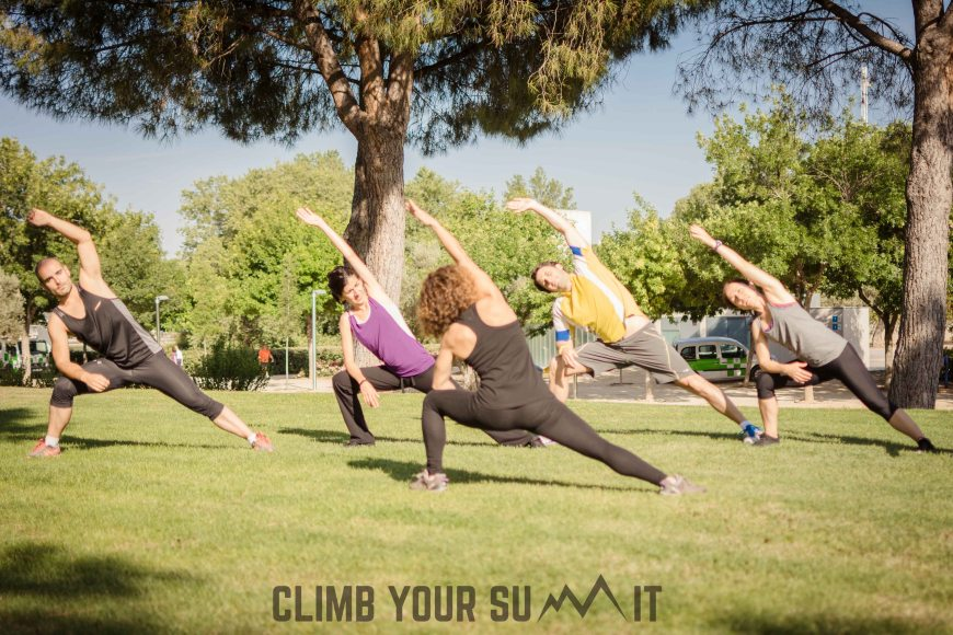 estiramiento grupo 4 Climb your Summit
